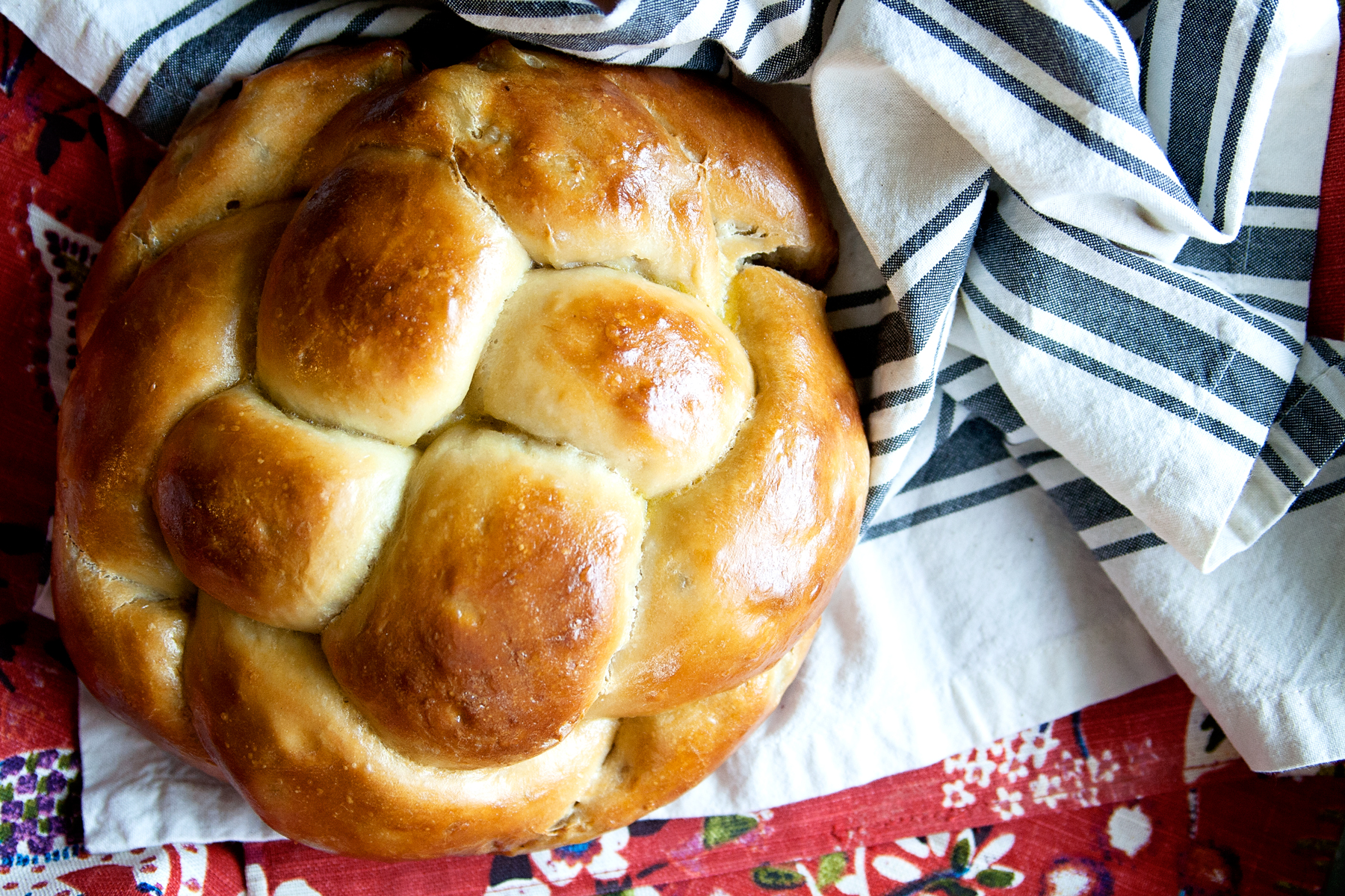 Apples & Honey Challah with Round Braided Challah Tutorial